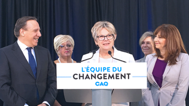 Candidature announcement for Pointe-aux-Trembles : Chantal Rouleau will represent the CAQ